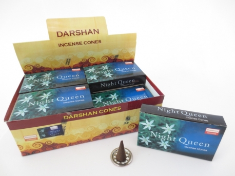 Darshan wierook kegeltjes Night Queen