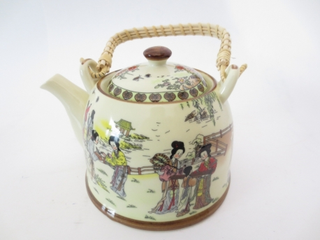 Theepot Chinese Vrouwen