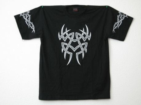 Tribal t-shirt met fantasiefiguur