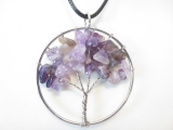 Tree of Life ketting amethyst