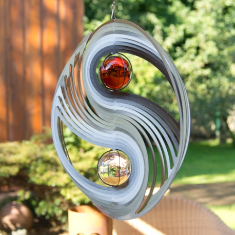 Cosmo Wind Spinner Yin Yang Amber XXL