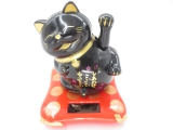 Lucky Cat Solar Light mini zwart
