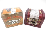 Pirate Box Assorted Polished Stone + Coins - groothandel
